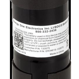 CalAmp Battery Label